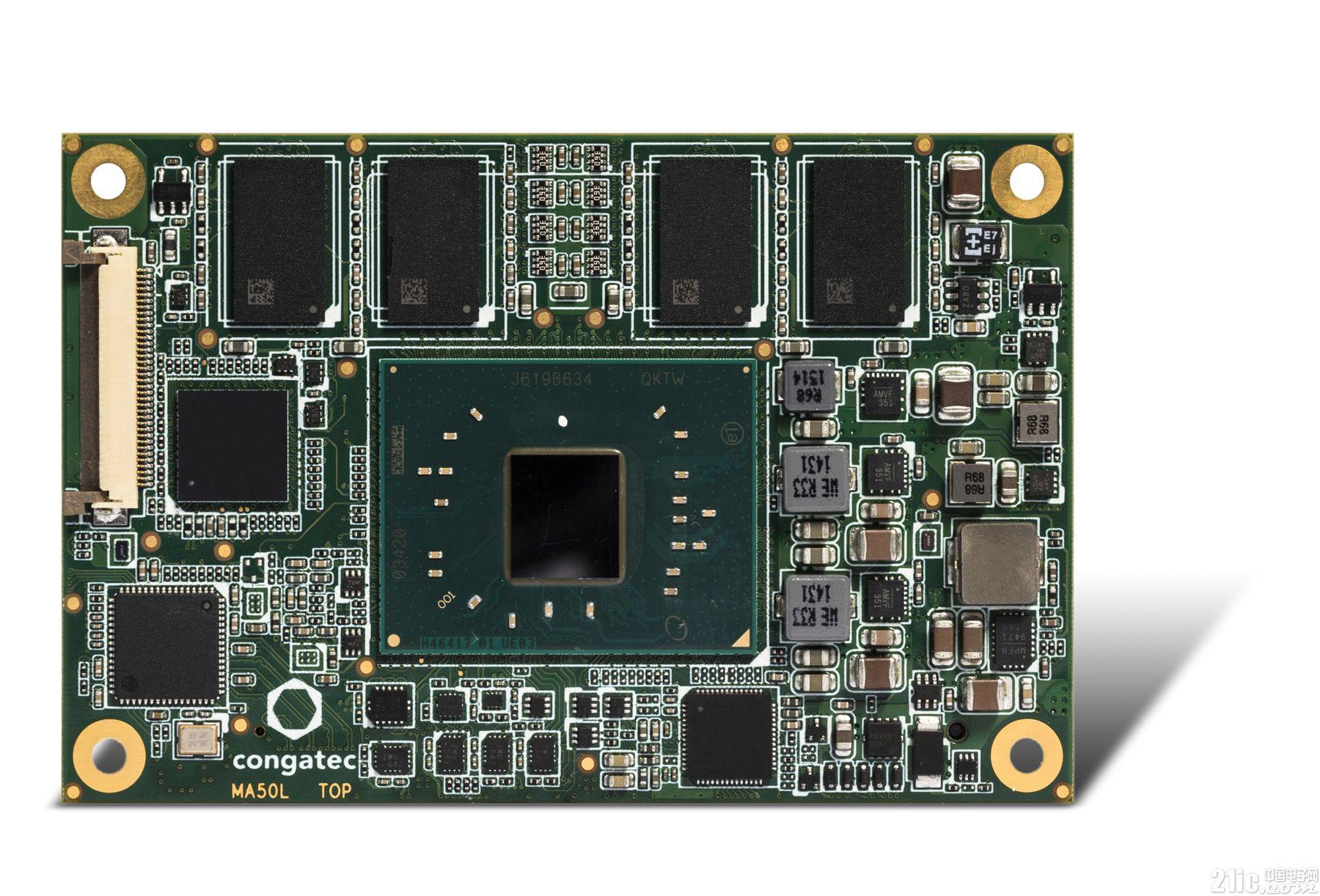 康佳特全新基于英特尔Apollo Lake 处理器的COM Express Mini 模块