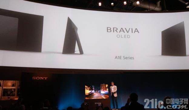 【CES 2017】Sony推出首款OLED电视,屏幕自发声