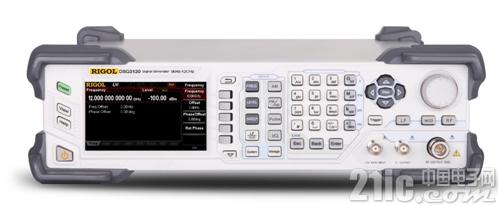 RIGOL 推出12GHz射频信号源DSG3120