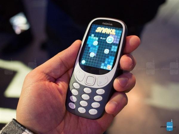 360元!诺基亚3310火了:史上最畅销功能机