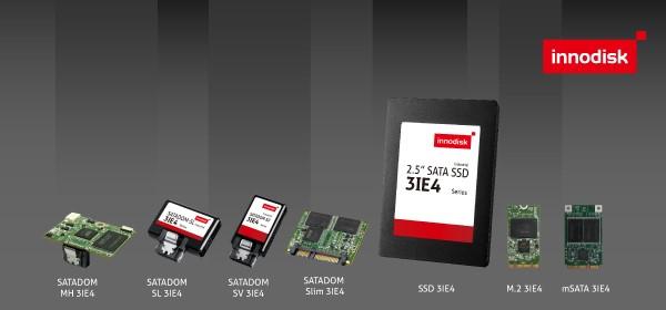 SLC寿命MLC成本,宜鼎推全新iSLC NAND闪存的SATA 3IE4系列