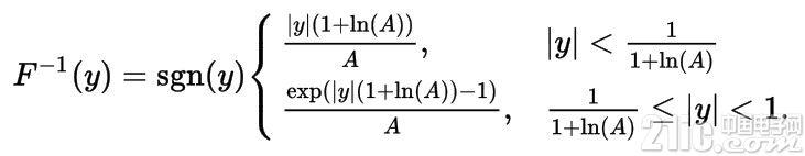 A-Law解码公式,也就上述函数的反函数.jpg
