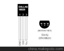 DS18B20多点温度检测系统