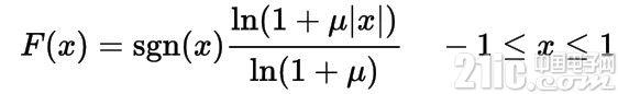 uLaw的编码公式.jpg