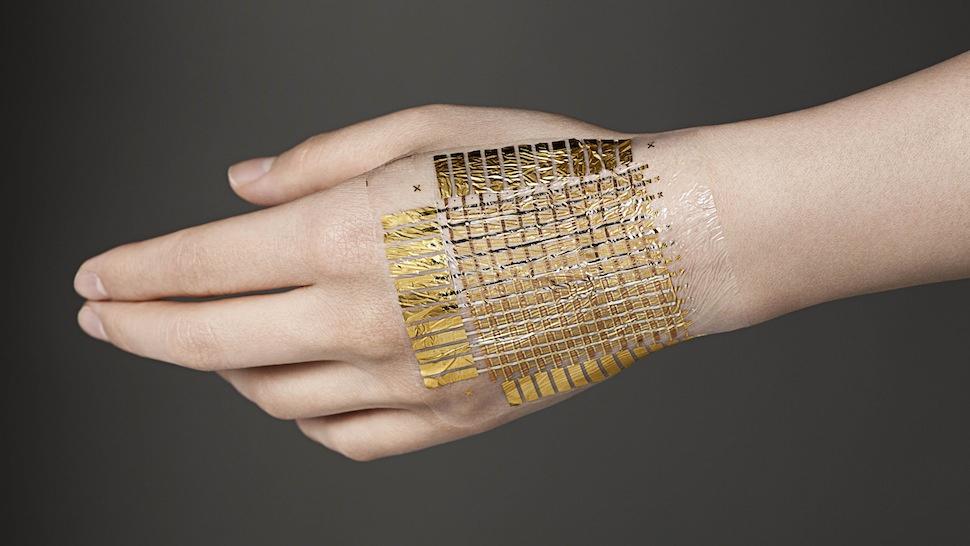 中科院发表电子皮肤新进展,超薄贴附皮肤