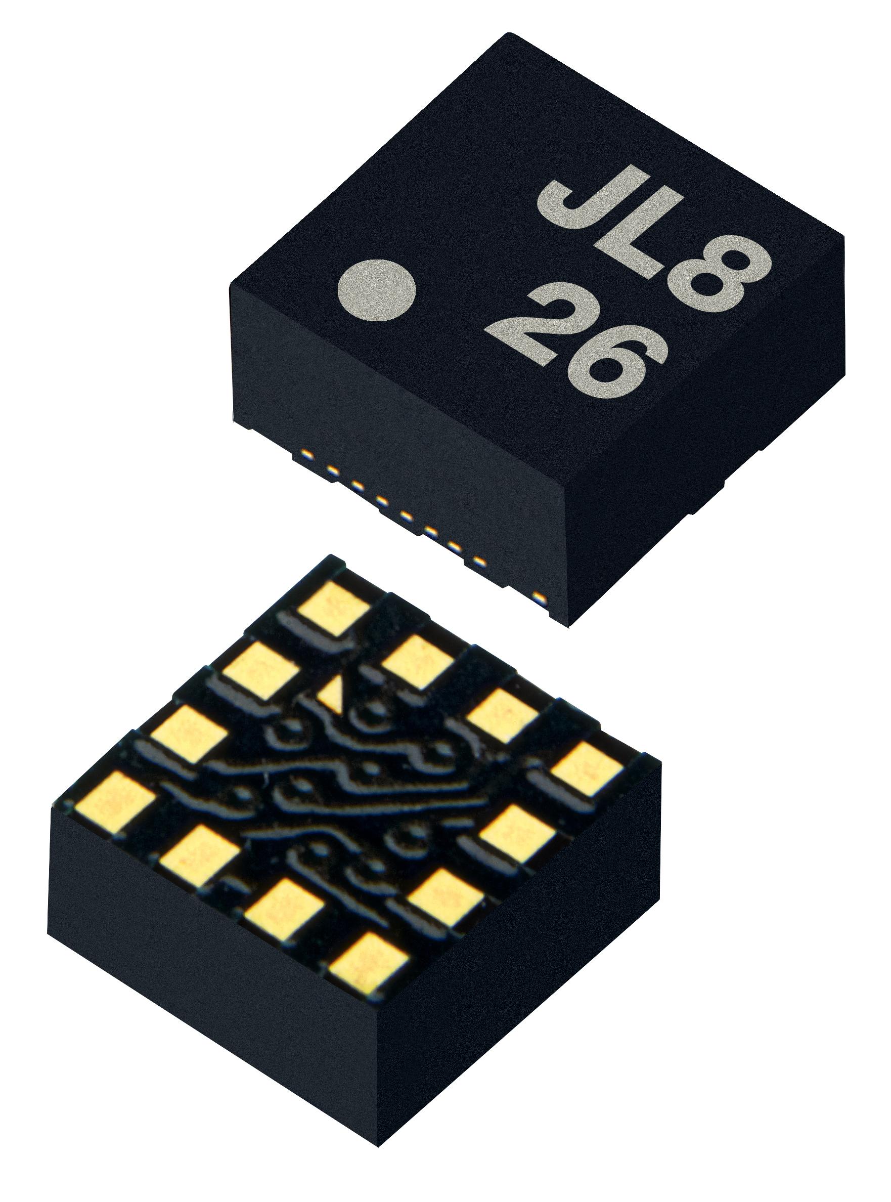 """ROHM开发出内置步行检测及计步功能的加速度传感器""""KX126"""" 有助于智能手机和可穿戴式设备等的小型化与低功耗化"""