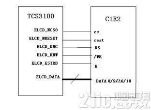 LCD�f用接口�路�O�