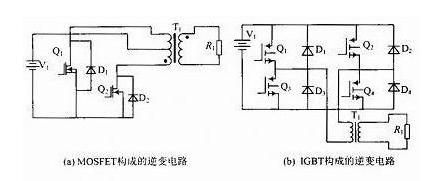 光伏IGBT逆变器设计原理和电路图