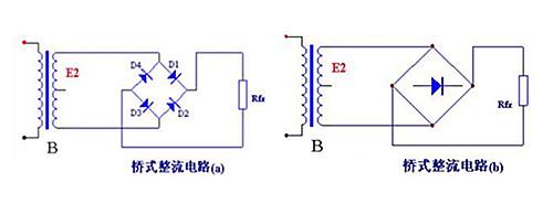 桥式半波整流电路_桥式整流电路图和电流反向 - 模拟电路 - 21IC中国电子网