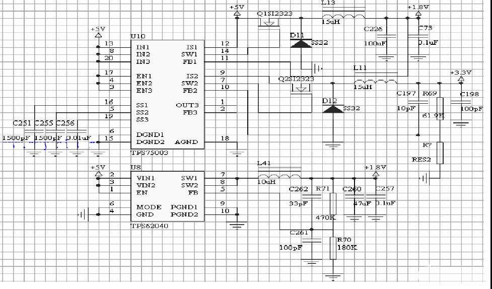 3G移动视频监控系统电源电路图