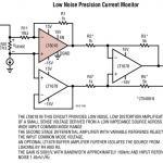 LT6018 低噪声精准电流监视器