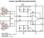 LT6018 低噪声、高 CMRR 仪表放大器