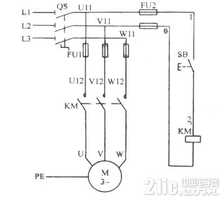几种常见电机控制电路图图片