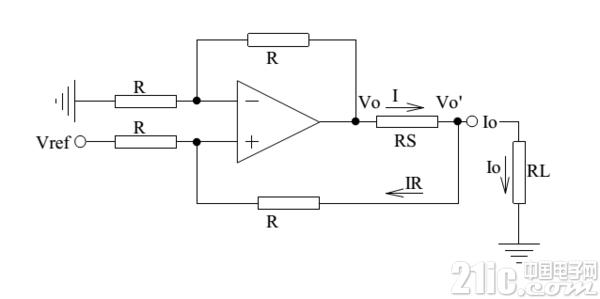 如何用运放电路制作恒流源