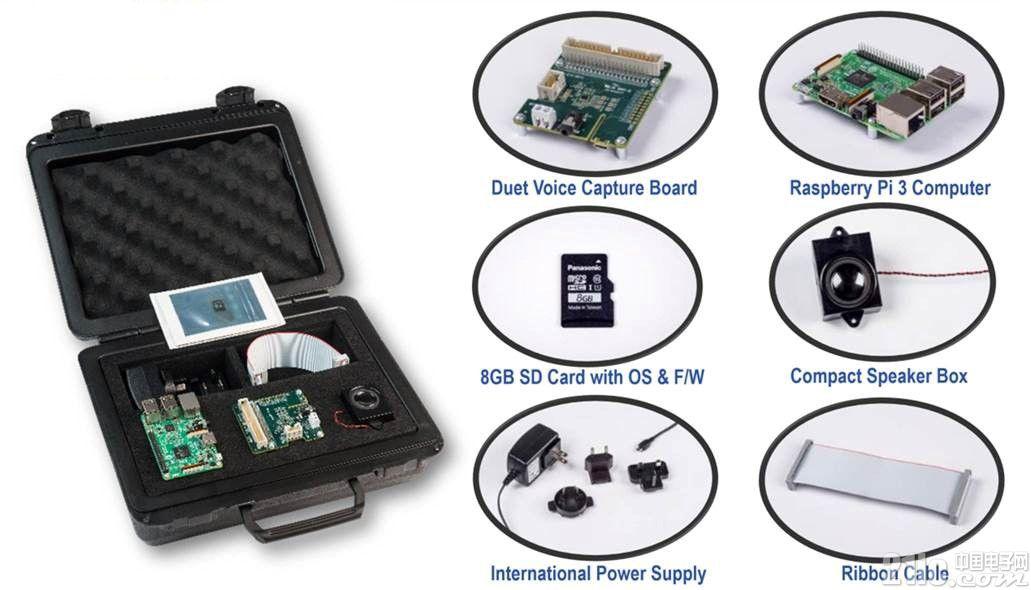 Digi-Key 独家供应 Cirrus Logic 的 Alexa Voice Service (AVS) 语音采集开发套件