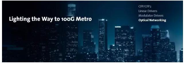 MACOM 100G城域网技术简介