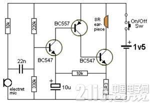 助听器电路分析