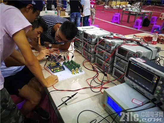 鼎阳科技全面助力2017年全国大学生电子设计竞赛