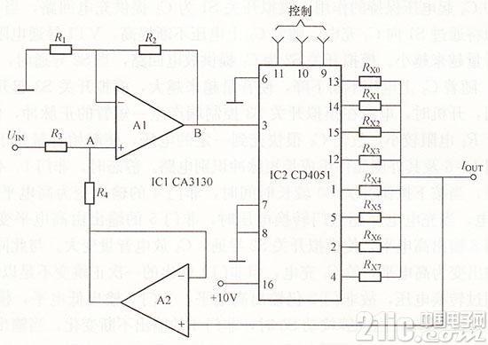 可控双向电流源电路图