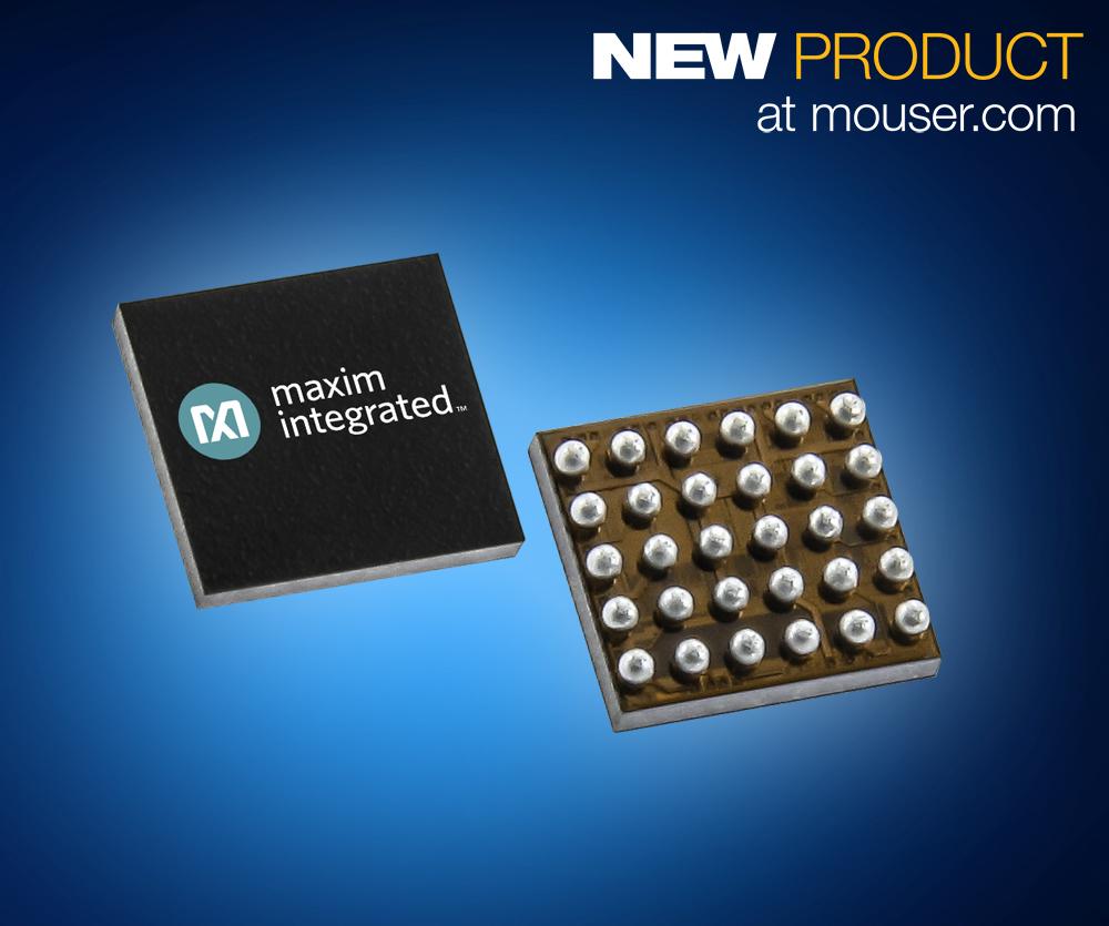 贸泽开售Maxim MAX30004生物电势模拟前端 助力可穿戴医疗随时为健康把关