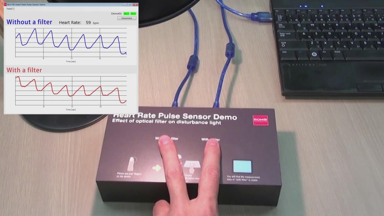 光学式脉搏波传感器 BH1790GLC