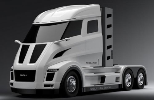 尼古拉与博世合作研发增程版氢燃料电池八级卡车