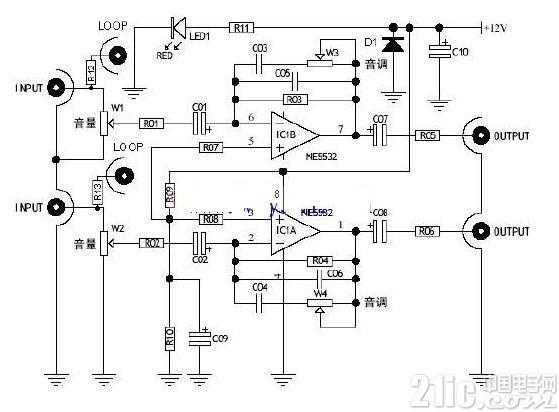 NE5532设计HIFI开户