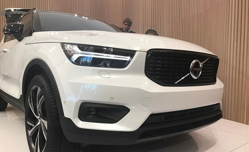 沃尔沃发布新车XC40 配置自动驾驶辅助系统