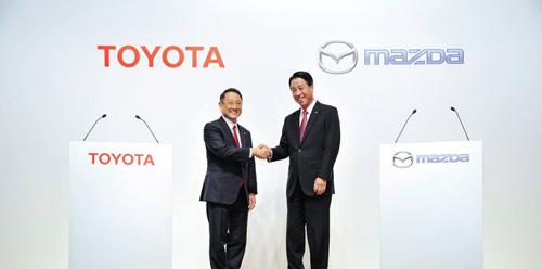 马自达联合丰田,共同研发智能车联信息娱乐平台