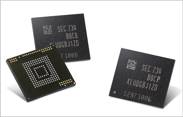 850MB/s!三星首款嵌入式通用闪存eUFS即将出世