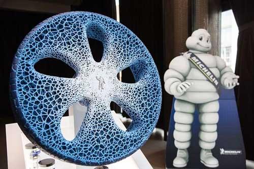 米其林为无人驾驶时代发明新轮胎