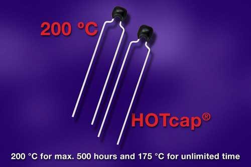 Vishay将HOTcap K…H系列汽车级MLCC的温度范围提高到+200℃