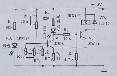 过热保护电路原理图