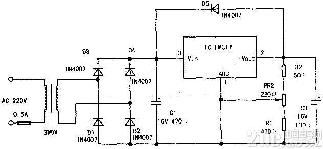 实用小型稳压电源的设计与制作