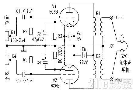 微型电子管6C6B简介及应用