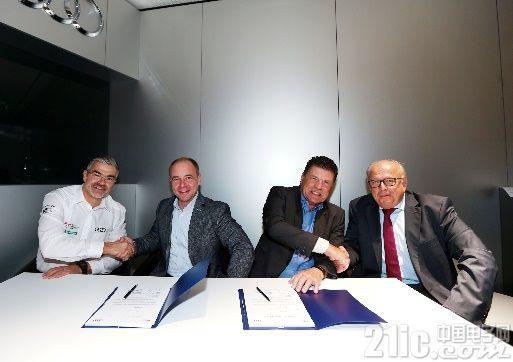 伍尔特电子和奥迪签署 Formula E 赛事的新合作伙伴协议