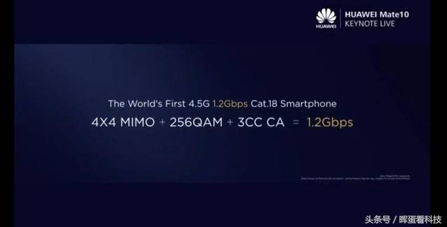 华为Mate 10发布:提前布局5G网络,世界第一部4.5G手机