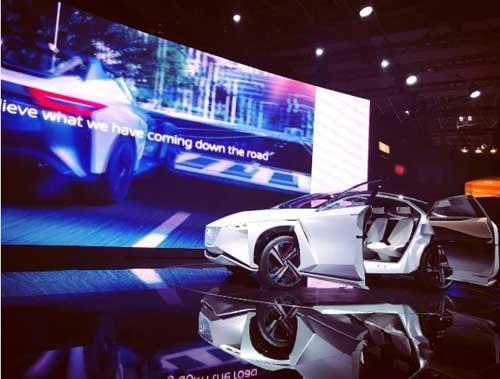 日产IMx纯电动跨界概念车:将实现完全自动驾驶