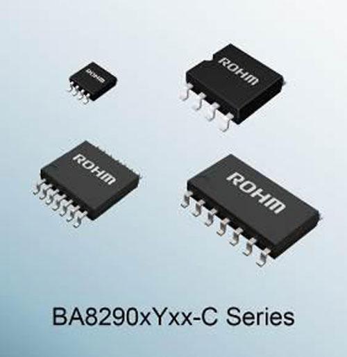 """ROHM推出车载运算放大器""""BA8290xYxx-C系列"""""""