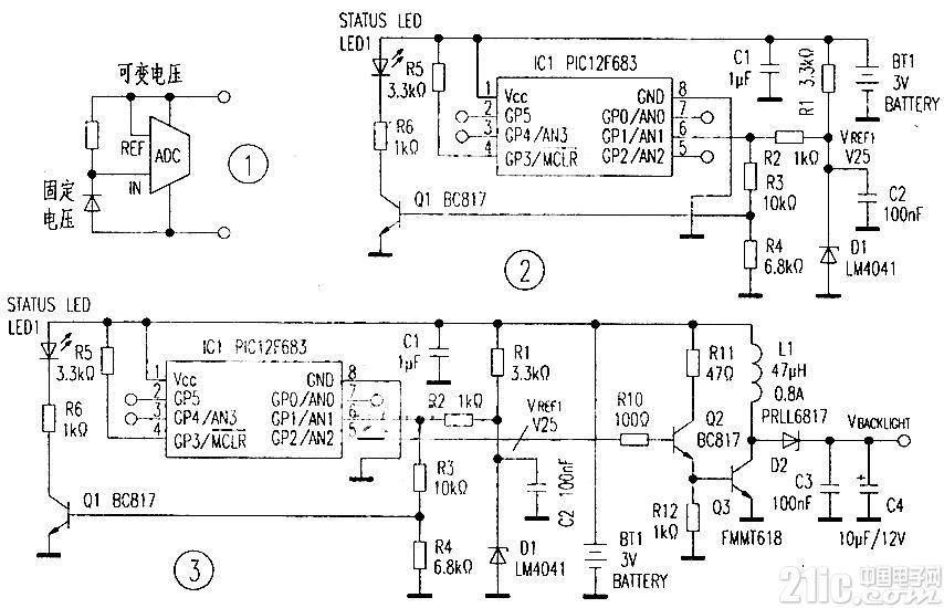 可作恒定升压转换器的电池监控器
