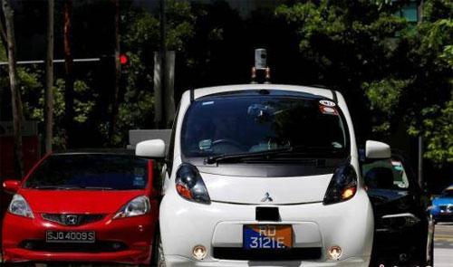 无人驾驶领域竞争激烈