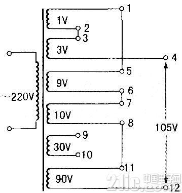 方便适用的多电压变压器