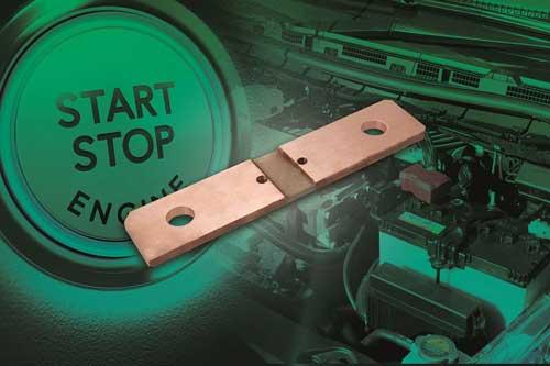 Vishay发布精度高、成本低、耐振动的电池分流器