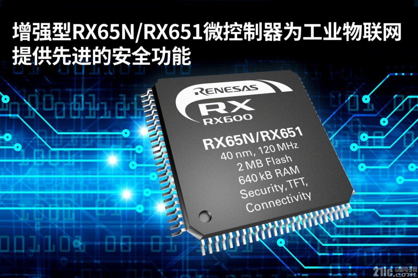 增强型RX65N-RX651微控制器为工业物联网提供先进 的安全功能.jpg