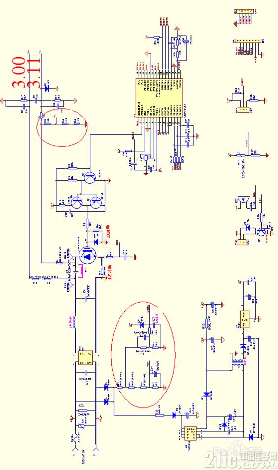 美的电磁炉各部分电路原理分析