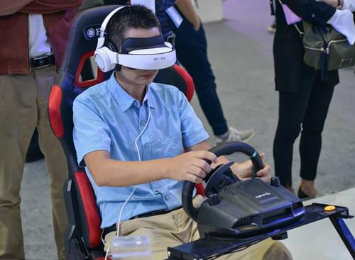 2017高交会VR虚拟现实模拟体验