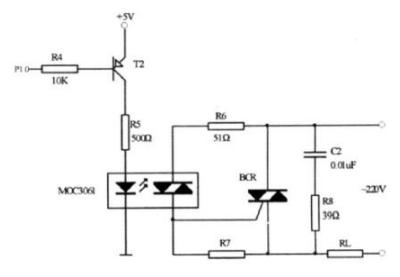 双向晶闸管过零检测电路设计