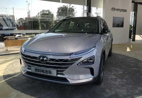 现代FE氢燃料电池汽车中国首发,续航里程最高可达800公里