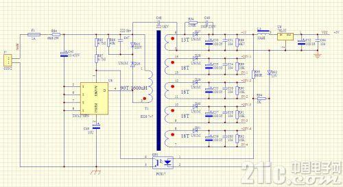 用EG8010驱动大功率IGBT模块的驱动板