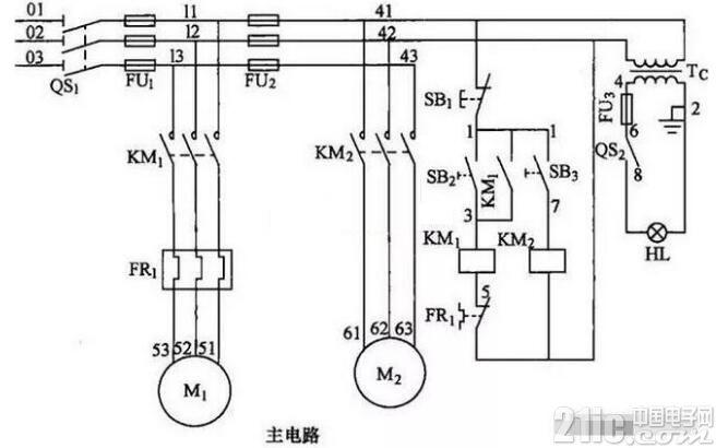 电工初学者如何快速看懂电气控制电路图